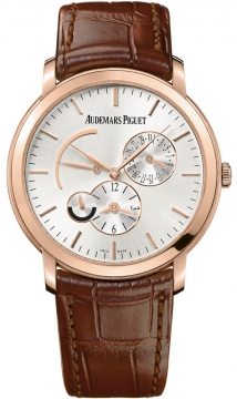 Audemars Piguet Jules Audemars Dual Time Mens watch, model number - 26380or.oo.d088cr.01, discount price of £26,271.00 from The Watch Source