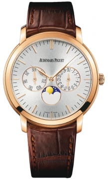 Audemars Piguet Jules Audemars Moonphase Calendar Mens watch, model number - 26385or.oo.a088cr.01, discount price of £23,530.00 from The Watch Source