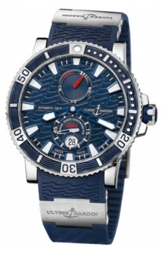 Ulysse Nardin Maxi Marine Diver Titanium 45mm Mens watch, model number - 263-90-3/93, discount price of £5,975.00 from The Watch Source