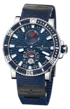 Ulysse Nardin Maxi Marine Diver Titanium Mens watch, model number - 263-90-3C/93, discount price of £6,923.00 from The Watch Source