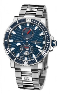 Ulysse Nardin Maxi Marine Diver Titanium Mens watch, model number - 263-90-7m/93, discount price of £6,736.00 from The Watch Source