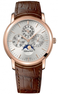 Audemars Piguet Jules Audemars Perpetual Calendar Mens watch, model number - 26390or.oo.d088cr.01, discount price of £44,748.00 from The Watch Source