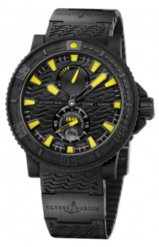 Ulysse Nardin Maxi Marine Diver Black Sea Mens watch, model number - 263-92-3C/924, discount price of £6,010.00 from The Watch Source