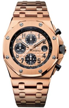 Audemars Piguet Royal Oak Offshore Chronograph 42mm Mens watch, model number - 26470or.oo.1000or.01, discount price of £52,725.00 from The Watch Source