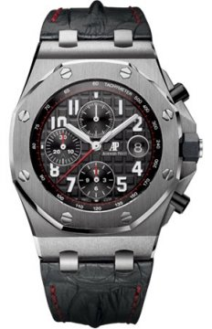 Audemars Piguet Royal Oak Offshore Chronograph 42mm Mens watch, model number - 26470st.oo.a101cr.01, discount price of £18,810.00 from The Watch Source