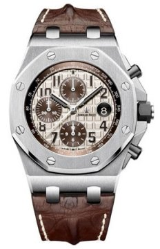 Audemars Piguet Royal Oak Offshore Chronograph 42mm Mens watch, model number - 26470st.oo.a801cr.01, discount price of £16,150.00 from The Watch Source