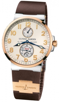 Ulysse Nardin Maxi Marine Chronometer Mens watch, model number - 265-66-3/60, discount price of £8,276.00 from The Watch Source