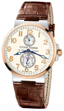 Ulysse Nardin Maxi Marine Chronometer Mens watch, model number - 265-66/60, discount price of £6,545.00 from The Watch Source