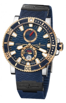 Ulysse Nardin Maxi Marine Diver Titanium 45mm Mens watch, model number - 265-90-3c/93, discount price of £8,933.00 from The Watch Source