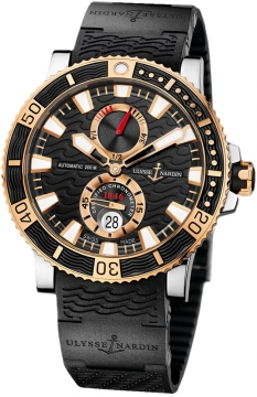 Ulysse Nardin Maxi Marine Diver Titanium Mens watch, model number - 265-90-3c/92, discount price of £8,937.00 from The Watch Source