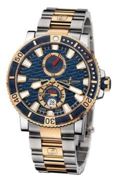 Ulysse Nardin Maxi Marine Diver Titanium Mens watch, model number - 265-90-8m/93, discount price of £13,974.00 from The Watch Source
