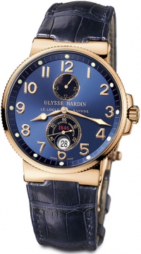 Ulysse Nardin Maxi Marine Chronometer Mens watch, model number - 266-66/623, discount price of £13,221.00 from The Watch Source