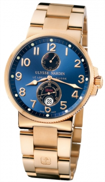 Ulysse Nardin Maxi Marine Chronometer Mens watch, model number - 266-66-8/623, discount price of £23,608.00 from The Watch Source