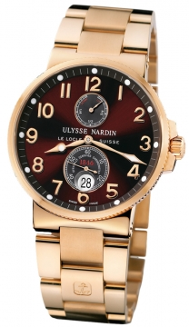 Ulysse Nardin Maxi Marine Chronometer Mens watch, model number - 266-66-8/625, discount price of £23,608.00 from The Watch Source