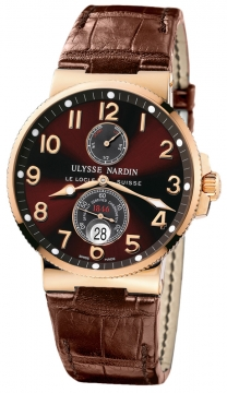 Ulysse Nardin Maxi Marine Chronometer Mens watch, model number - 266-66/625, discount price of £13,221.00 from The Watch Source