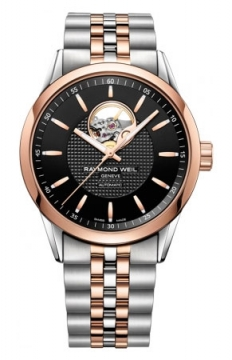 Raymond Weil Freelancer Mens watch, model number - 2710-sp5-20021, discount price of £1,290.00 from The Watch Source