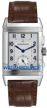 Jaeger LeCoultre Reverso Duo Mens watch, model number - 2718410, discount price of £5,780.00 from The Watch Source