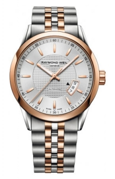 Raymond Weil Freelancer Mens watch, model number - 2730-sp5-65021, discount price of £1,140.00 from The Watch Source
