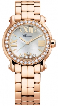 Chopard Happy Sport Round Quartz 30mm Ladies watch, model number - 274189-5007, discount price of £20,961.00 from The Watch Source