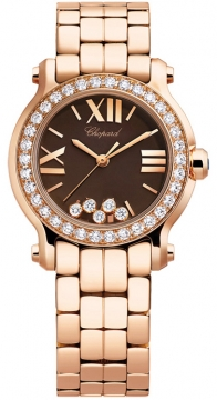 Chopard Happy Sport Round Quartz 30mm Ladies watch, model number - 274189-5008, discount price of £20,204.00 from The Watch Source