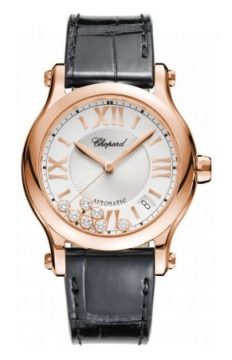 Chopard Happy Sport Medium Automatic 36mm Ladies watch, model number - 274808-5001, discount price of £8,993.00 from The Watch Source