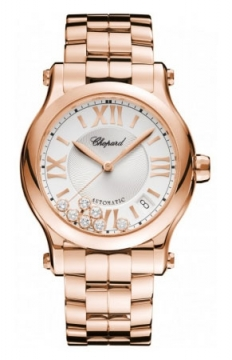 Chopard Happy Sport Medium Automatic 36mm Ladies watch, model number - 274808-5002, discount price of £18,521.00 from The Watch Source