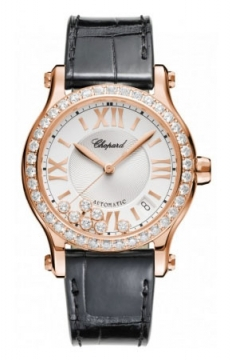 Chopard Happy Sport Medium Automatic 36mm Ladies watch, model number - 274808-5003, discount price of £15,648.00 from The Watch Source