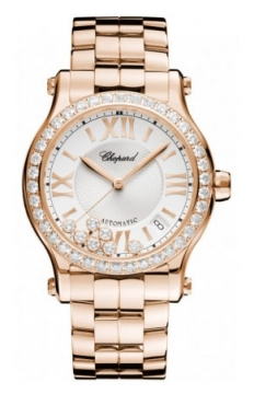 Chopard Happy Sport Medium Automatic 36mm Ladies watch, model number - 274808-5004, discount price of £25,653.00 from The Watch Source