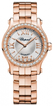 Chopard Happy Sport Mini Automatic 30mm Ladies watch, model number - 274893-5004, discount price of £21,496.00 from The Watch Source