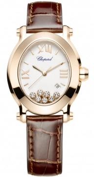 Chopard Happy Sport Oval Quartz Ladies watch, model number - 275350-5001, discount price of £9,834.00 from The Watch Source