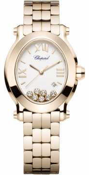 Chopard Happy Sport Oval Quartz Ladies watch, model number - 275350-5002, discount price of £19,320.00 from The Watch Source