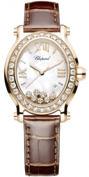 Chopard Happy Sport Oval Quartz Ladies watch, model number - 275350-5003, discount price of £16,855.00 from The Watch Source