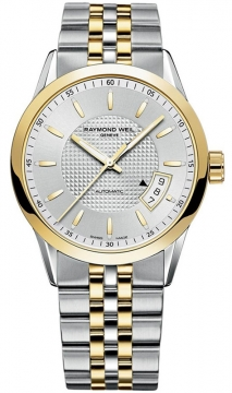 Raymond Weil Freelancer Mens watch, model number - 2770-stp-65021, discount price of £1,060.00 from The Watch Source