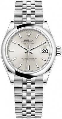 Rolex Datejust 31mm Stainless Steel 278240 Silver Index Jubilee watch