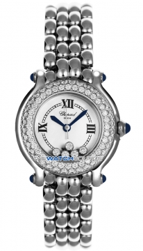 Chopard Happy Sport Classic Round 5 Floating Diamonds 278294-2005 watch