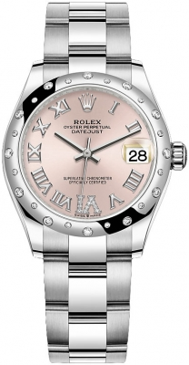 Rolex Datejust 31mm Stainless Steel 278344rbr Pink VI Oyster watch