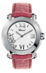 Chopard Happy Sport Round Quartz 36mm 278475-3001 Pink watch