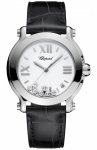 Chopard Happy Sport Round Quartz 36mm 278475-3001 black watch