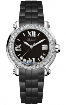 Chopard Happy Sport Round Quartz 36mm Ladies watch, model number - 278475-3017, discount price of £7,803.00 from The Watch Source