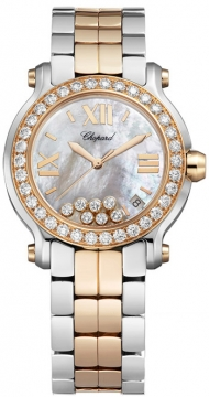 Chopard Happy Sport Round Quartz 36mm Ladies watch, model number - 278488-6001, discount price of £17,467.00 from The Watch Source
