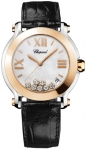 Chopard Happy Sport Round Quartz 36mm 278492-9004 black watch
