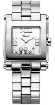 Chopard Happy Sport Square Quartz Medium Ladies watch, model number - 278496-3001, discount price of £5,848.00 from The Watch Source