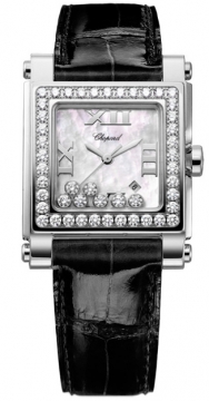 Chopard Happy Sport Square Quartz Medium Ladies watch, model number - 278504-2001, discount price of £11,250.00 from The Watch Source