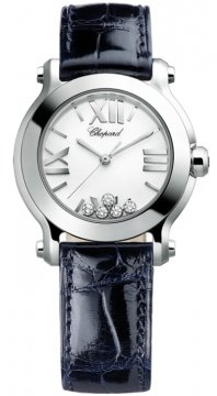 Chopard Happy Sport Round Quartz 30mm Ladies watch, model number - 278509-3001, discount price of £3,187.00 from The Watch Source