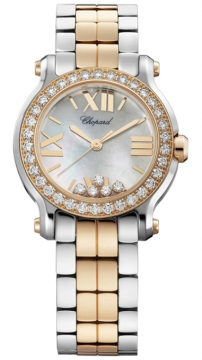 Chopard Happy Sport Round Quartz 30mm Ladies watch, model number - 278509-6005, discount price of £13,081.00 from The Watch Source