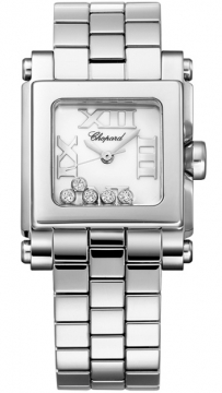 Chopard Happy Sport Square Quartz Small Ladies watch, model number - 278516-3002, discount price of £4,346.00 from The Watch Source