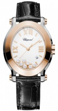 Chopard Happy Sport Oval Quartz Ladies watch, model number - 278546-6001, discount price of £5,967.00 from The Watch Source