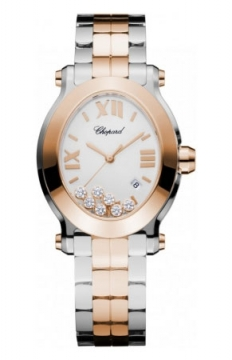 Chopard Happy Sport Oval Quartz Ladies watch, model number - 278546-6003, discount price of £10,370.00 from The Watch Source