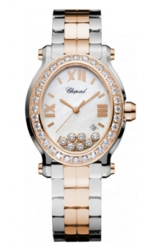 Chopard Happy Sport Oval Quartz Ladies watch, model number - 278546-6004, discount price of £17,850.00 from The Watch Source