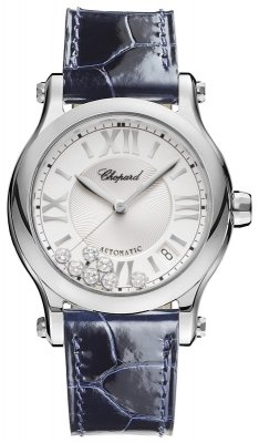 Chopard Happy Sport Medium Automatic 36mm 278559-3001 Blue watch